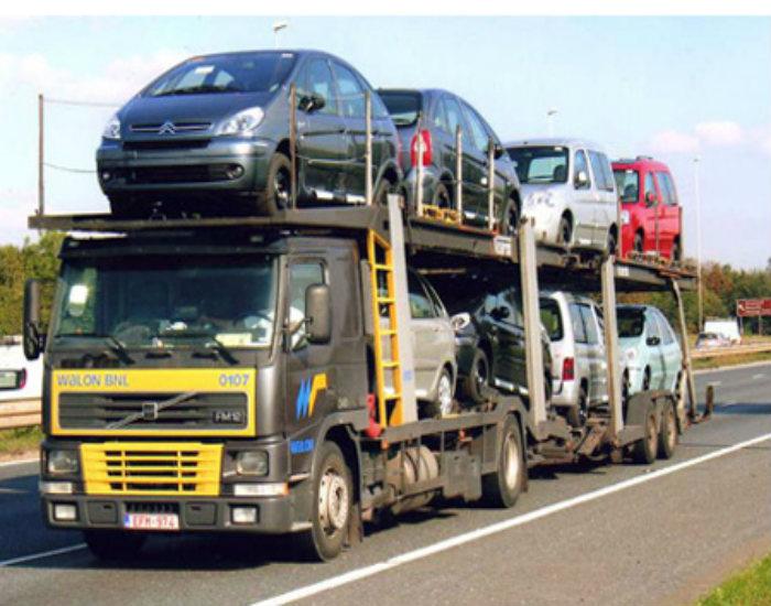 Cars in Transit to Uganda