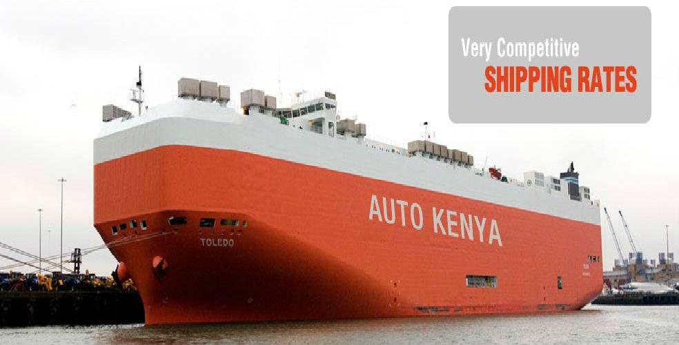 Shipping to Kenya and Uganda