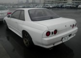 A rear of a 1993 Nissan Skyline GT-R (R32) exported by Japan Car Direct