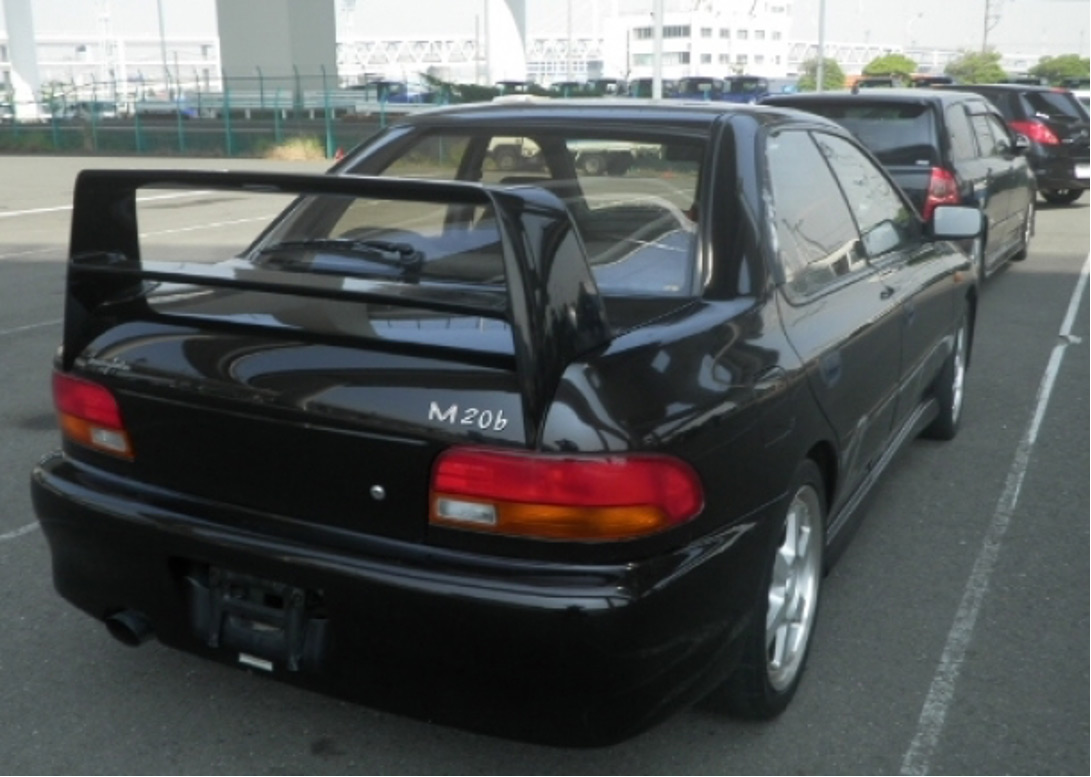 Rear of 1993 Tommy Kaira M20b exported by Japan Car Direct
