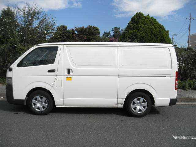 The Toyota Hiace Van for East Africa