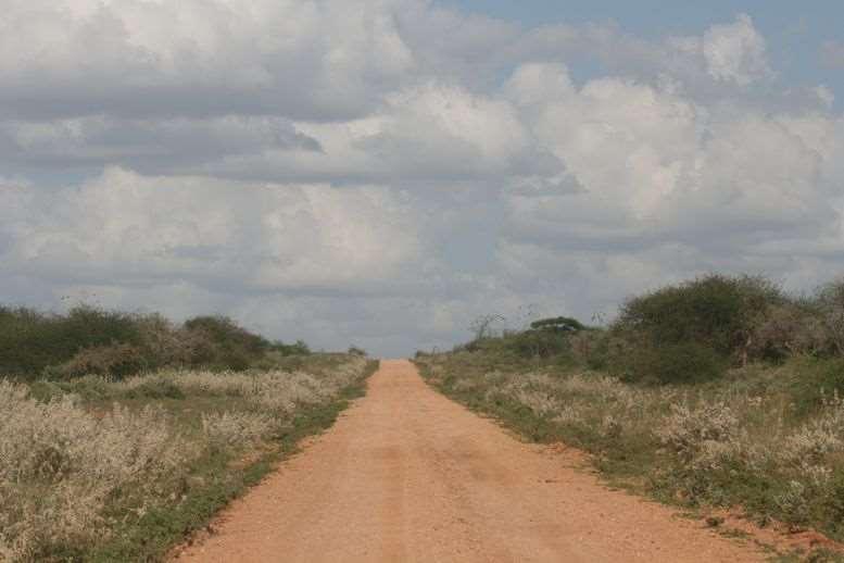 Kenya rough road