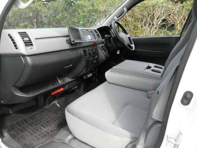 The Toyota Hiace Van for East Africa: Toyota Hiace cabin