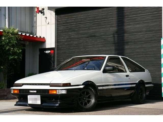 AE-86 for Drift Cars: Toyota AE86