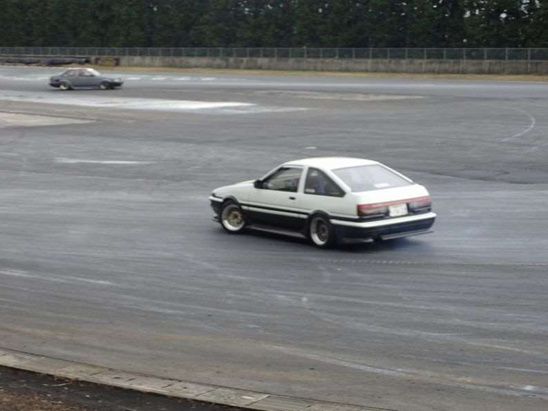 1.6 liter 4A-G in the AE-86 Trueno / Corolla Levin