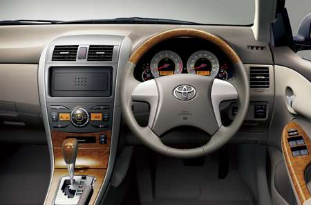 P2 classy interior Corolla Axio to import direct from Japan
