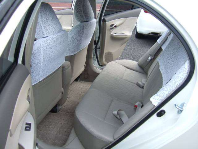 P6 2008 Corolla Axio good rear leg room buy direct from Japanese auctions for Kenya