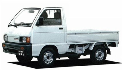 Daihatsu Hijet water cooled engine dealer auction Japan JDM kei truck import export