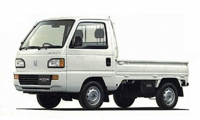 Honda Acty fully equipped cab radio ac wipers heater haul JDM kei truck read diff lock