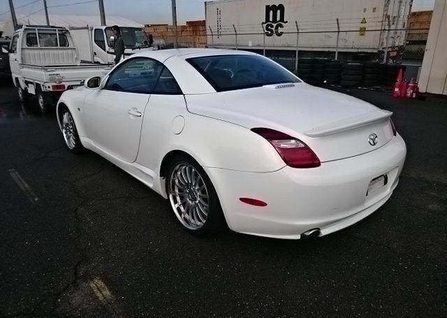 2001 Toyota Soarer Convertible