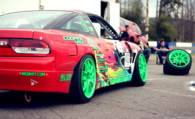 Drift Car Extreme Camber