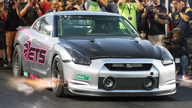 Record-breaking Nissan GT-R from Extreme Turbo Systems.