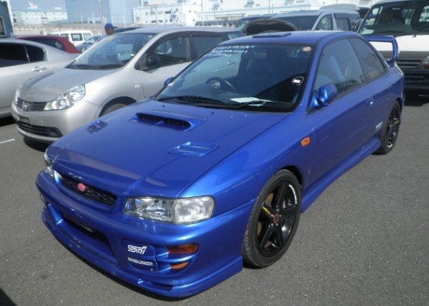 2000 Subaru WRX STI exported by Japan Car Direct - Subaru WRX STI sets new Nurburgring record