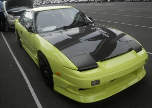 The first FIA Intercontinental Drifting Cup - A modified 1991 Nissan 180SX exported by Japan Car Direct LLC