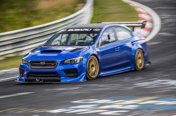 Subaru WRX STI Type RA NBR Special - Subaru WRX STI sets new Nurburgring record