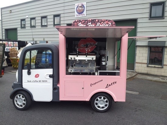 Japanese Food Trucks: Coffee Kei truck