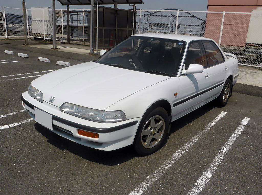 Honda Won Four 2018 Awards: Second-generation (1989–1993) Honda Integra ZXi (Japanese market)