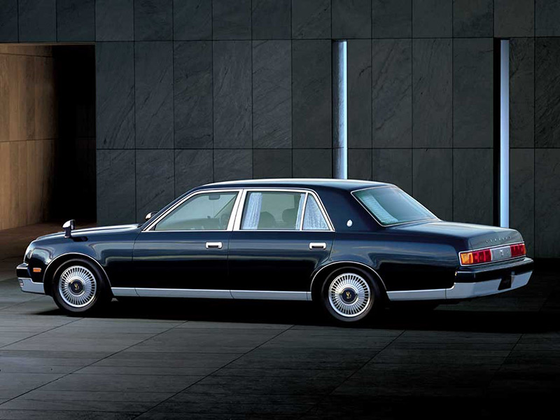 The 2018 Toyota Century — Japan's answer to Rolls-Royce: 1990 Toyota Century. Legal to import from Japan to the US.