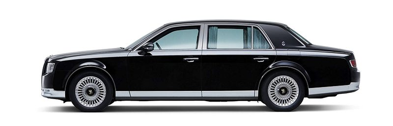 The 2018 Toyota Century — Japan's answer to Rolls-Royce: The 2018 Toyota Century. Only available in Japan.