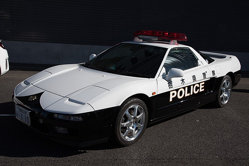 R35 GT-R Police Car: Honda NSX Police Car