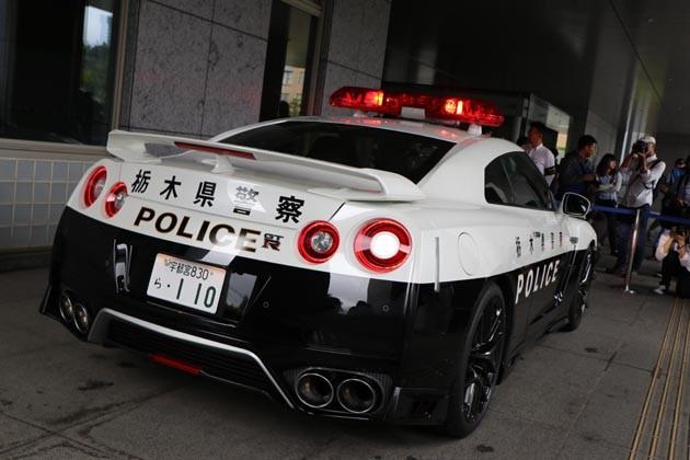 R35 GT-R Police Car