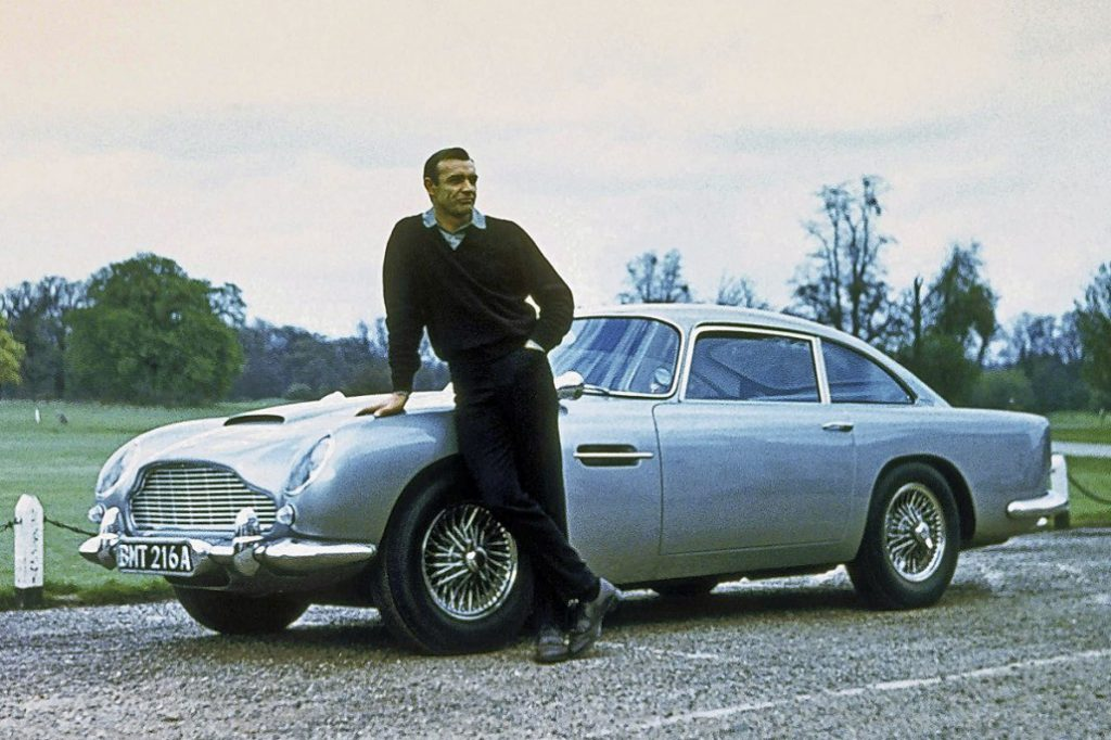 Aston Martin is Huge in Japan: Sean Connery and the 1964 Aston Martin DB5