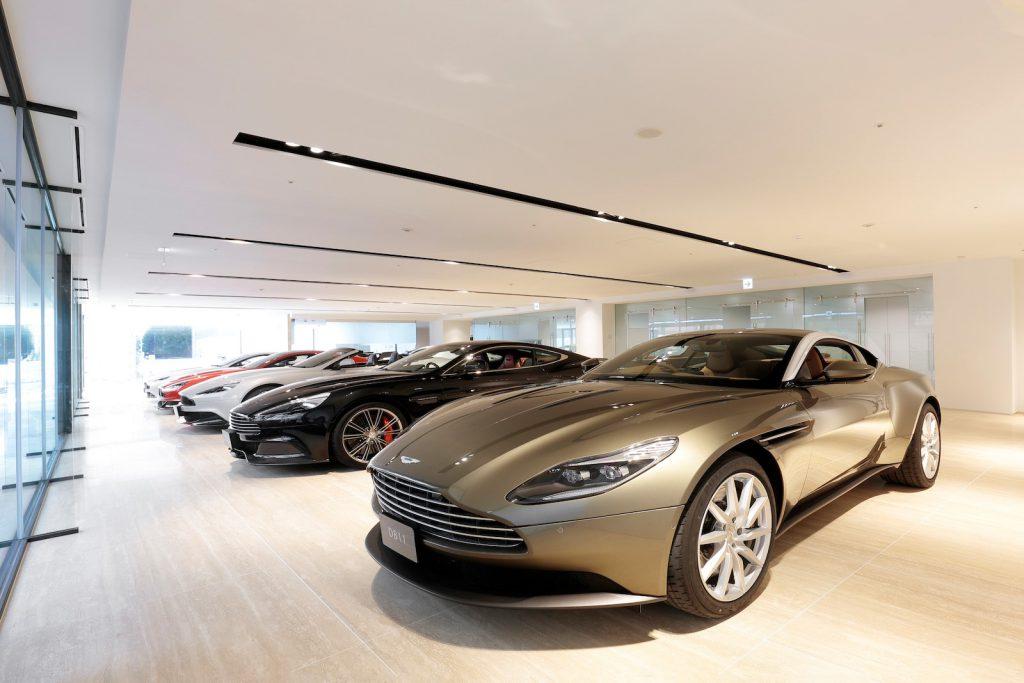 Aston Martin is Huge in Japan: Tokyo Aston Martin showroom