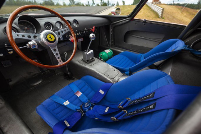 1962 Ferrari 250 GTO - The most expensive car ever? Interior of the 1962 Ferrari 250 GTO to be auctioned by RM Sotheby's