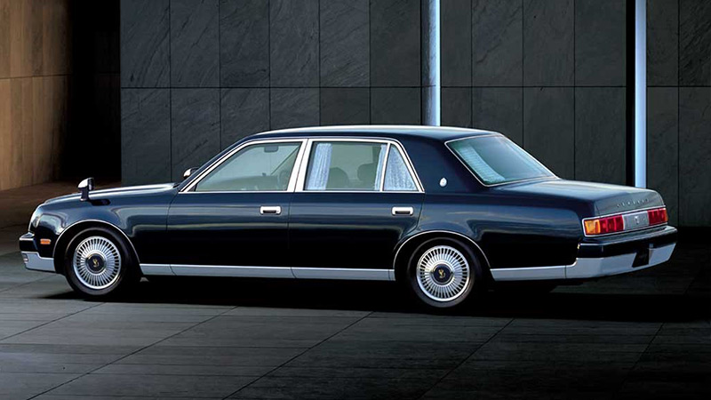 The 2018 Toyota Century — Japan's answer to Rolls-Royce: 1990 Toyota Century. Legal to import from Japan to the US