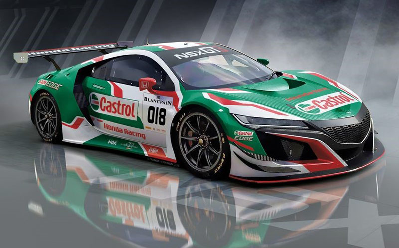 The Honda NSX returns to Spa 24: Castrol Honda Racing NSX GT3