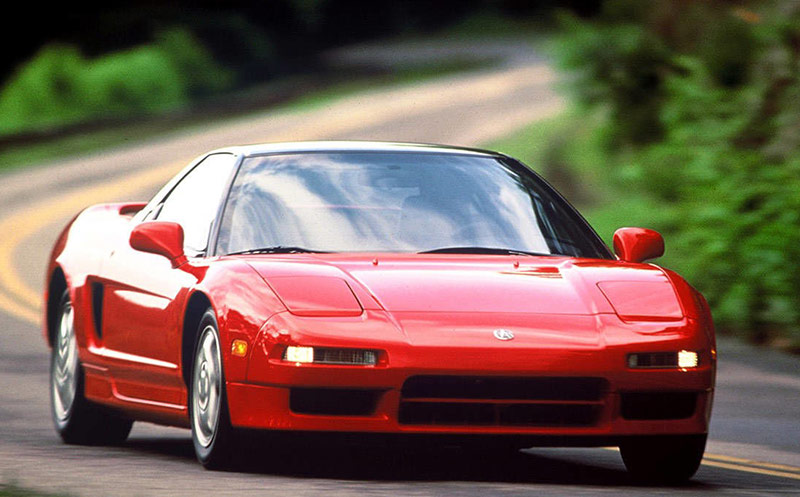 The Honda NSX returns to Spa 24: First-generation 1990 NSX (NA1)