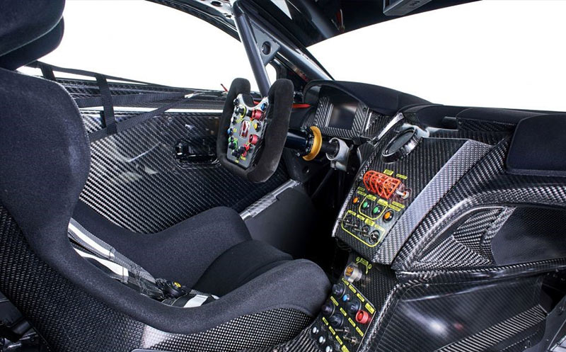 The Honda NSX returns to Spa 24: Honda NSX GT3 interior