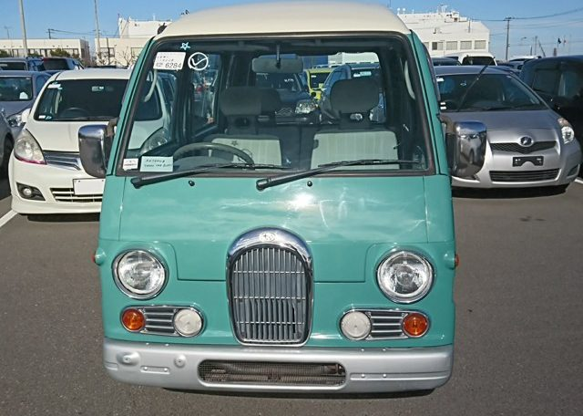 Subaru Sambar Classic Kei Van japan jdm import kei 25 year rule usa America