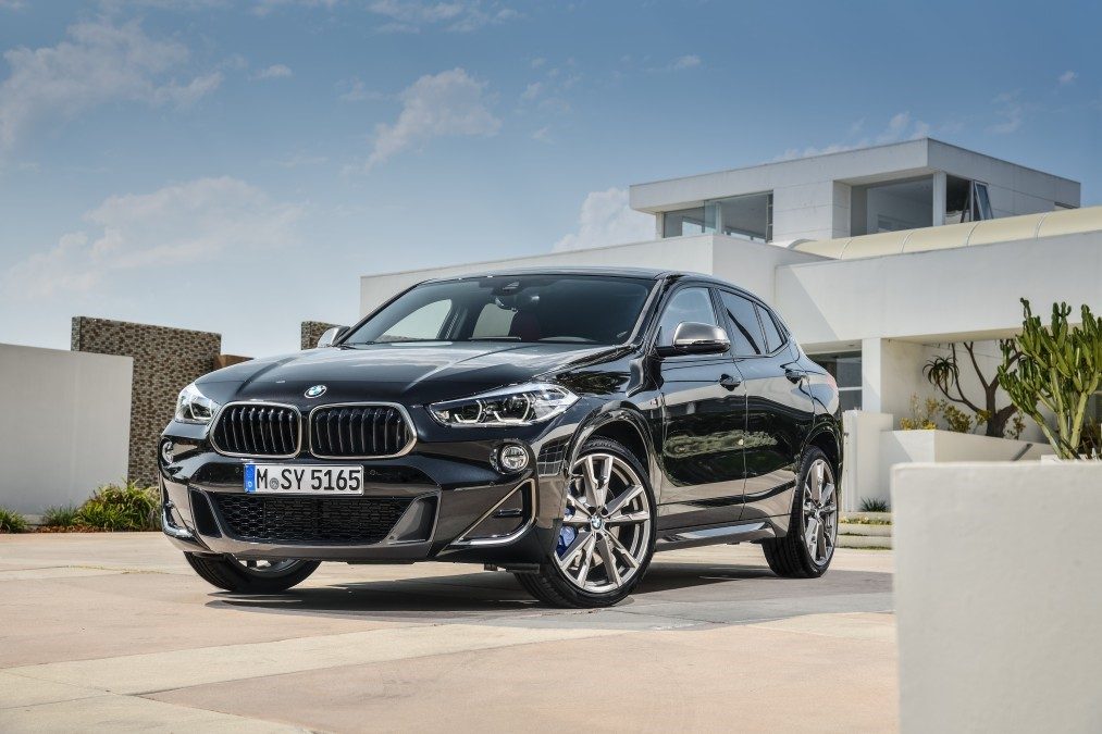 BMW Unveils The X2 M35i: New BMW X2 M35i