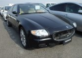 Maserati Quattroporte Executive GT 4.2-litre V8 DOHC engine luxury JDM cars