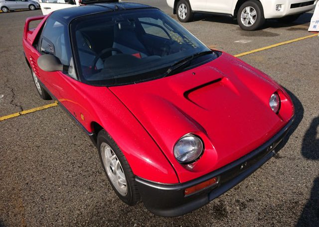Mazda Autozam AZ-1 PG6SA gull wing turbo kei car jdm import usa America 25 year rule
