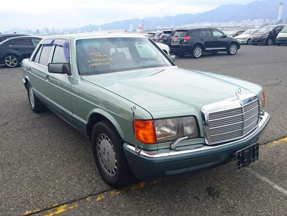 Mercedes Benz 560SEL japan import luxury used cars jdm buy