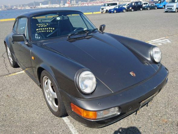 Import a Porsche 911 from japan lhd European luxury cars dealer auction