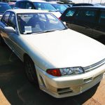 Nissan Skyline R32 import export used car auction Japan USA 25 year rule