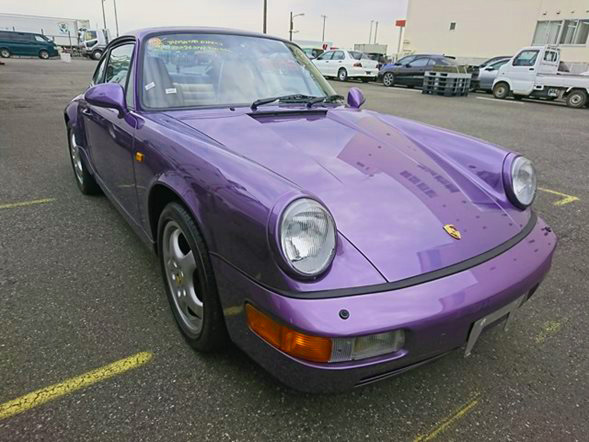 Porsche 911 JDM import from japan lhd cars export