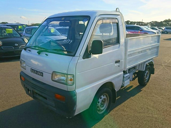 Suzuki Carry Dump Import Export used car auction Japan America
