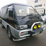 Mitsubishi Delica import export used car auction Japan USA 25 year rule