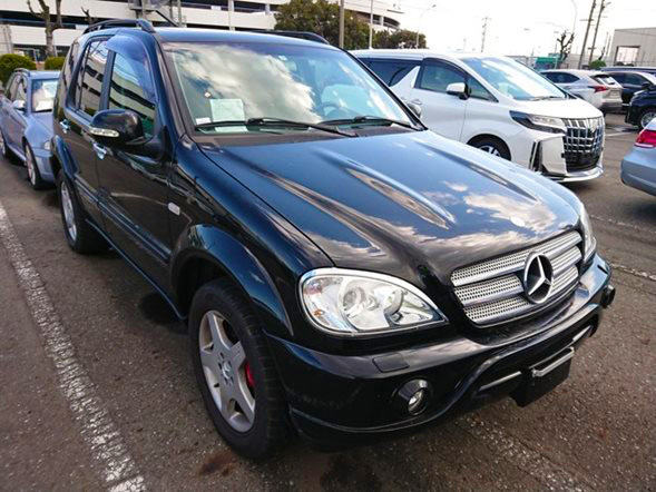 MERCEDES BENZ AMG ML55 high performance luxury used lhd cars japan jdm