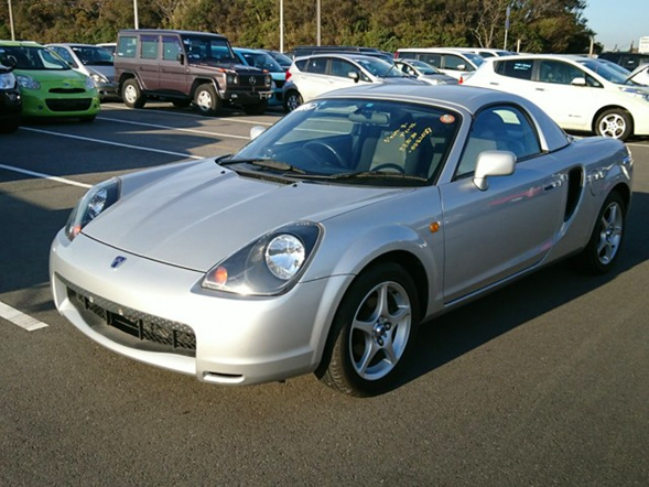 Toyota MR-S import export used car auction Japan Canada 15 year rule