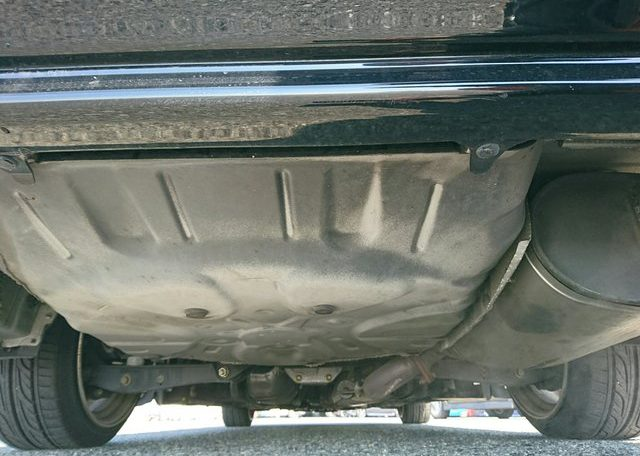 Toyota Crown Athlete undercarriage