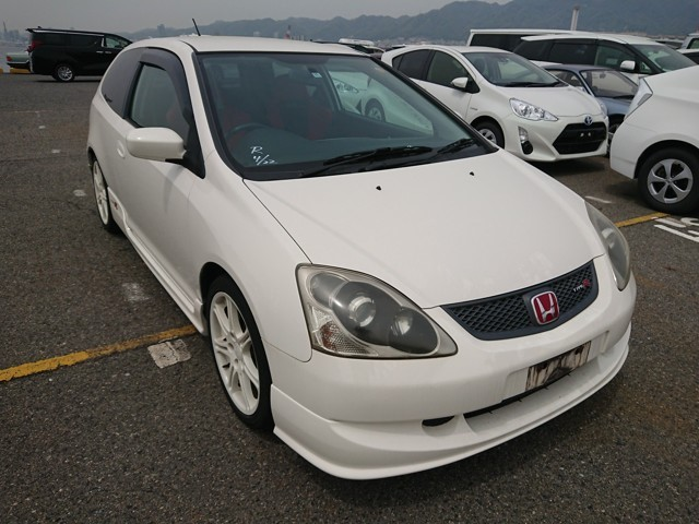 Honda Civic type R EP3 JDM sports car 2.0-litre i-VTEC engine (K20A2)