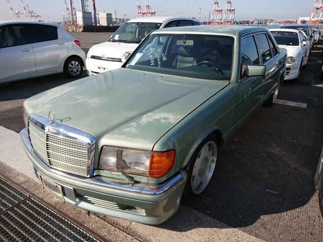 Mercedes Benz 560SEL LHD European luxury JDM cars available import from japan
