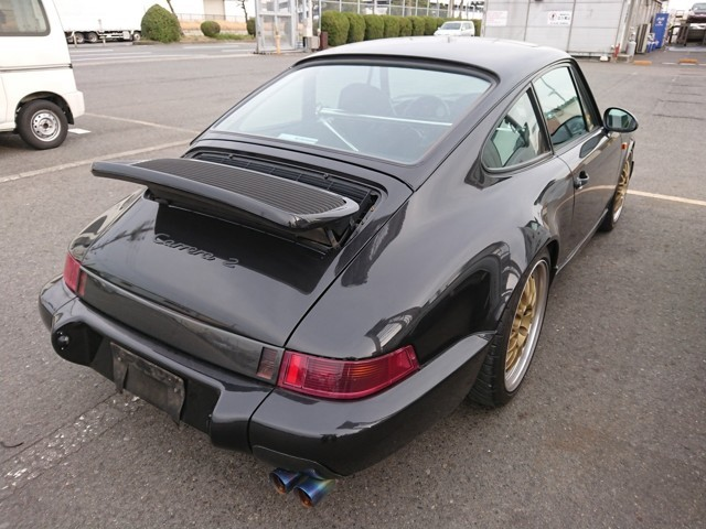 Porsche 911 964A Carrera 2 import to America usa 25 year rule JDM European luxury car