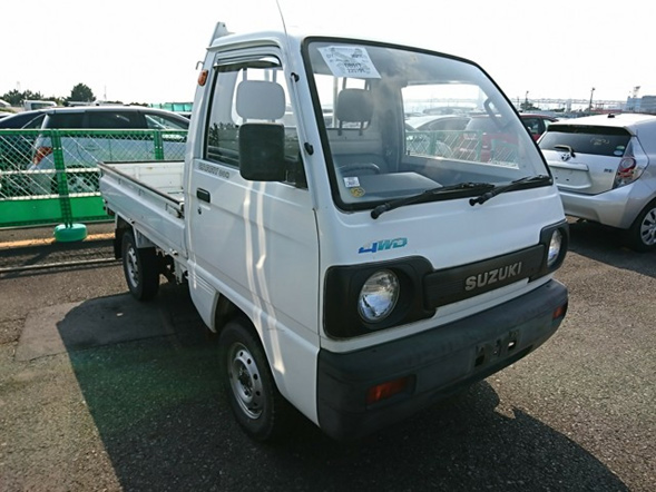 Kei mini truck 4wd hunting gardening delivery firewood import from Japan