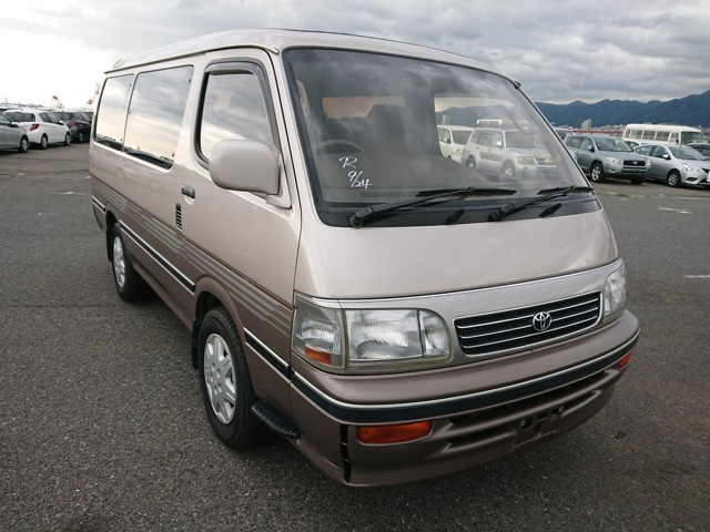 Japanese van Toyota quality excellent maintenance long reliable engine life 25 year rule export USA America Canada UK Europe